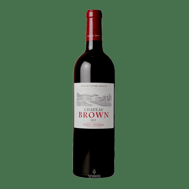 Château Brown, Rouge, 2015 Vindom