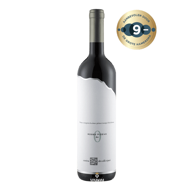 La Cantina dei Colli Ripani, Capitolo № 0, Rosso Piceno Vindom Wine Boutiqe Wijn Oldenzaal de Lutte