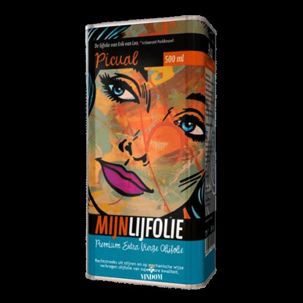 Aceites Unicos, Mijnlijfolie, Picual, Premium Extra Vierge, Olijfolie Vindom Wine Boutique Wijn Oldenzaal